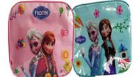 Wholesale Perorder Frozen Elsa Anna Kids Shoulder Bags Children Girls Outdoor Picnic Backpacks Childs Bottle Box Lunch Bag High Quality