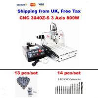 Wholesale Free Tax to EU Axis CNC router Z S W engraving machine engraving tool bits collet