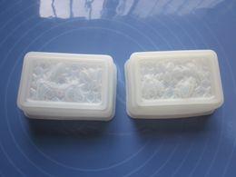 Wholesale 20 silicone soap mold bee shape cake mold cake decorating mold cake tools semi translucent color FDA