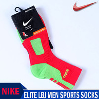 Wholesale NIKE professional elite sports men socks Leisure men sock Brand Socks for men pieces pairs