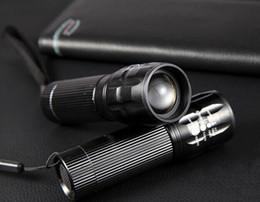 5 Pcs Power Led Zoom Light 3 AAA Batteries 150 -240 lumens CREE Q5 Adjust Zoom Led mini Flashlight Torch bicycle front light