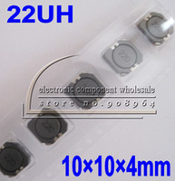 Wholesale 500pcs Inductor uh CDRH104R UH A mm SMD power shielded inductors