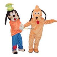 goofy costume - Fancytrader Goofy and Pluto Mascot Costume Goofy Mascot Costume Pluto Mascot Costume Dog Mascot Costume FT30117