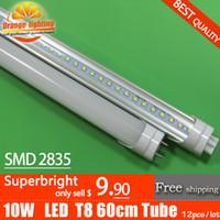 cheap free shippingbest price60cm t8 led tube lamp10w50pcs best light for office