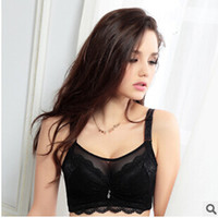 Wholesale Thin Bra cup bra gather adjustable anti emptied