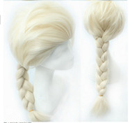 Cheap Long Frozen wig Best Boy Under $10 Elsa wig