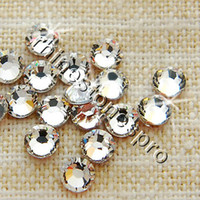 Wholesale GENUINE Swarovski Elements ss40 Crystal Clear NO hot fix Loose bead ss mm FLATBACK Glass Rhinestone