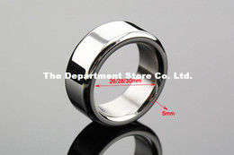 Wholesale Stainless Steel Cock Ring Metal Cockring for Man glans ring dick ring