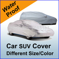 Wholesale Car Covers Cover Hatch Back SUV Blue Green New Silver Universal Outdoor Indoor All Weather Protector UV With Mirror Pockets