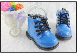 Wholesale Martin boot boy girl Autumn boots British children leather shoes children s boots