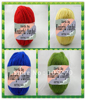 Cheap Free shipping cashmere yarn hand knitting yarn 36 kinds of colors wholesale retail