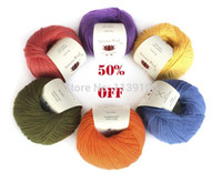 Cheap 1kg lot cashmere blended yarn for hand knitting baby soft yarn FREE SHIPPING+gift