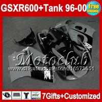 Wholesale Tank Black grey For SUZUKI GSXR600 SRAD GSXR MCT62 NEW Black grey GSX R600 GSX R600 Fairing