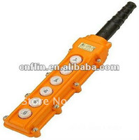 Cheap 100X Free Shipping COB 63 Push Button Switch AC250V F Remote Control SYS Hoist Crane