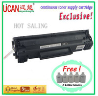 laser printer toner cartridge - NEW HOT laser printer toner cartridges for HP LJ P1102 for lg toner powder rechargeable cartridge pages