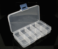 Wholesale 1 Clear Beads Display Storage Case Box x72x23mm