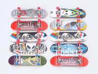 Wholesale multi color manufacturer selling Alloy ABS Material mini Super finger Skateboard toy