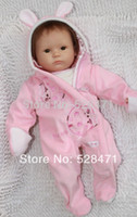 Cheap Reborn baby dolls for girl soft vinyl dolls 18 inches babies toys lifelike doll
