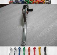 Cheap high quality CNC Shorty Long Clutch Brake Levers Hand Atv for Yamaha Yfm 125 S 2004 - 08 14 - 0505 JL-2091