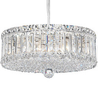 Wholesale Modern Crystal Chandeliers Plaza Drum Pendant