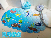 Wholesale 2014 Hot Selling Colors Non slip Bathroom Mat PVC Bath Mats in Kitchen Bathroom Toilet