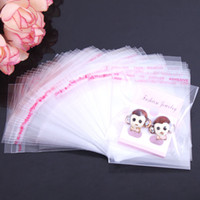self adhesive bags - clear self adhesive plastic bag opp packaging jewelry pouches bags gift bag