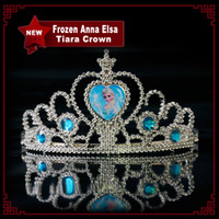 Frozen Anna Elsa Tiara Crown Hair Band Sparking Crystal Cubi...