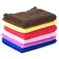 Wholesale car towel cm g supply Rundong microfiber towel pet towel Cleaning towel absorbent towel wash towels