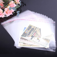 Wholesale clear self adhesive plastic bag opp packaging jewelry pouches bags gift bag