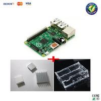 Wholesale IN Rev RAM Raspberry Pi Model B Project Board heat sinks board case