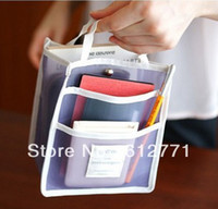 Wholesale Multifunctional transparent to receive packages travel to receive packages grocery bags