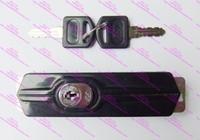 Wholesale Black metal cabinet locks File cabinet combination lock Tin trunk lock Shift locks Sliding file cabinet lock