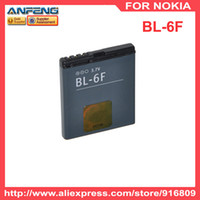 Cheap High quality High Capacity 1200mAh battery BL-6F BL 6F 6F for nokia mobile phone 10pcs lot free shipping