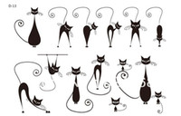 sexy pussy - Waterproof female tattoo stickers sexy pussy cat morphological Temporary tattoo