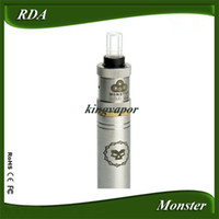 Wholesale Kingvapor Monster Cloud V2 RDA vs Vulcan Patriot Nimbus Castle Cat V2 Tobh Atty Stillare fit Chiyou King Raijin Tree of life Skeleton Key