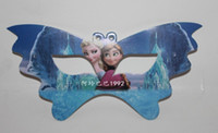 Wholesale Hot selling new frozen birthday party eye mask children children party dress up items Christmas gifts