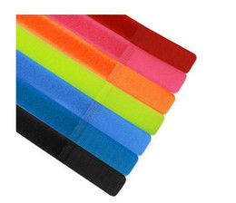 Wholesale 100pcs mm Mixed Color Nylon Cable Ties Tie Strap Straps Velcro Wire Cord Organization Management