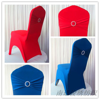 Wholesale wedding chair cover New drilling deduction Siamese stretch chair cover wedding chair cover hotel Hotel Celebration stretch stretch chair co