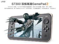 Wholesale Inch JXD S7300 Dual Core Game Console HD Screen Android GB GB HDMI OTG