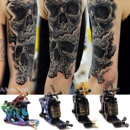 Wholesale 2014 Professional V Wrap Coils Tattoo Machine Gun Shader Liner