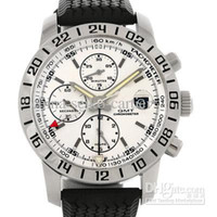 Wholesale Luxury White GMT Automatic Rubber Bands Mens Watch Mechanical Stainless Steel Men s Watches