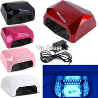 Wholesale New V W Gel UV Curing Professional Ultraviolet Lamp Light Nail Dryer Nail Art Tools High Quality SV002609