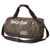 brand tennis bag - brand canvas sport duffle men and women tennis bags luggage travel gym bags