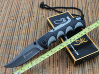 Cheap Browning DA-37 3Cr13Mov Blade Pocket Folding Knives Aluminum Handle Camping knife tools