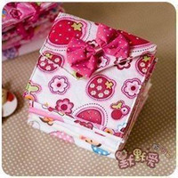 Cheap Women three-dimensional flower sanitary napkin bag storage bag girls