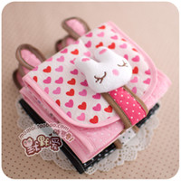 Cheap Women three-dimensional cartoon sanitary napkin bag storage bag girls