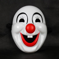 Wholesale Child Halloween cartoon mask hard plastic clown mask