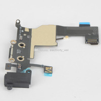 Wholesale USB Charging Port Charger Dock Flex Cable Connector For iPhone G