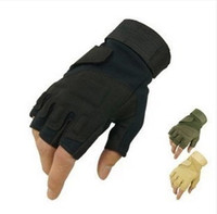 Wholesale DHL pairs Blackhawk U S special forces tactical Protective glove outdoor Quick drying Anti Slip riding gloves Wrestle