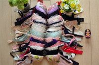 Wholesale Underwear Lace Bra Sets Women s Push Up Sexy Lady Female Fashion Floral Spring Rose Pink Doc Cheapest Hot ZB10